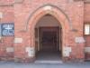 The main door after the refurbishment
