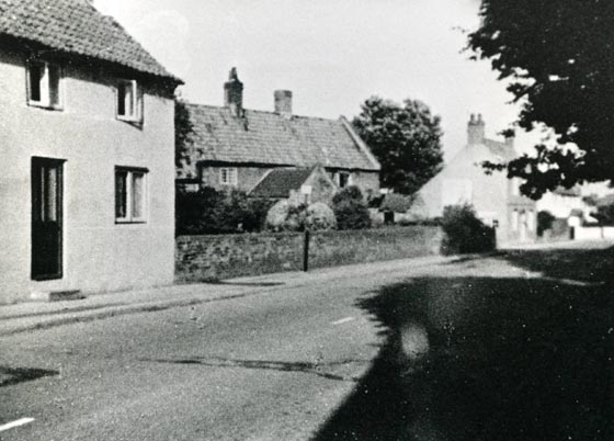 Cottages on Southwell Road which have since been demolished