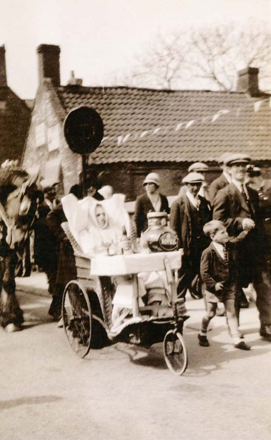 Parade in the 1950s