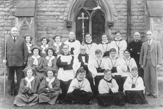 The Church Choir in 1953