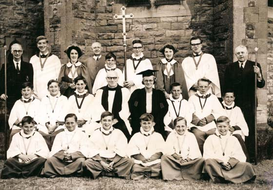 The Church Choir in 1959