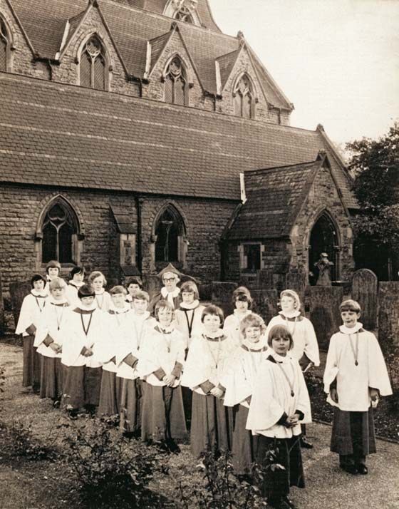 The Church Choir in 1973