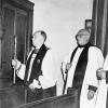 Dedicating The Choir Vestry 1960s
