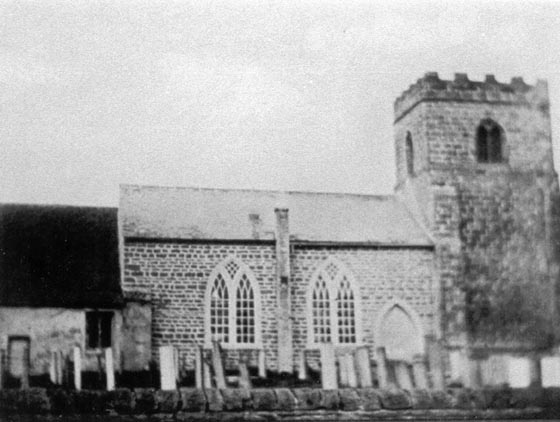 The Earlier Church of St Michaels