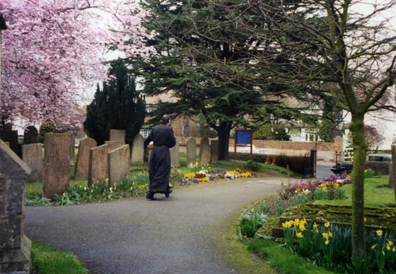 Church yard - spring-1995