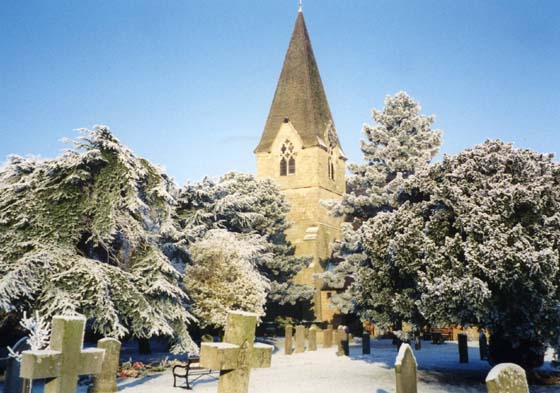 Church back in the winter 1990