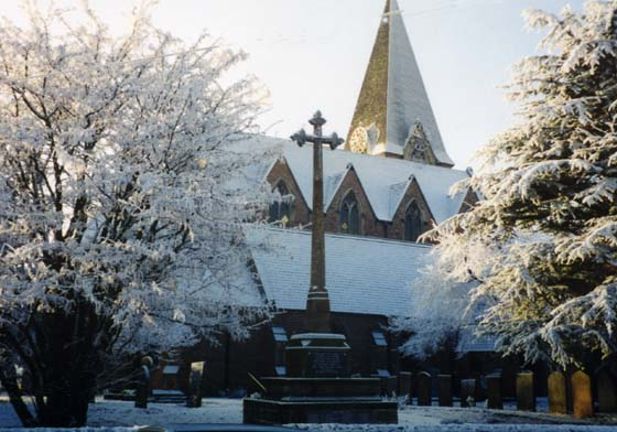 The Church in the winter of 1990