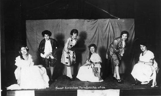 The Farnsfield Players - Feb 1926