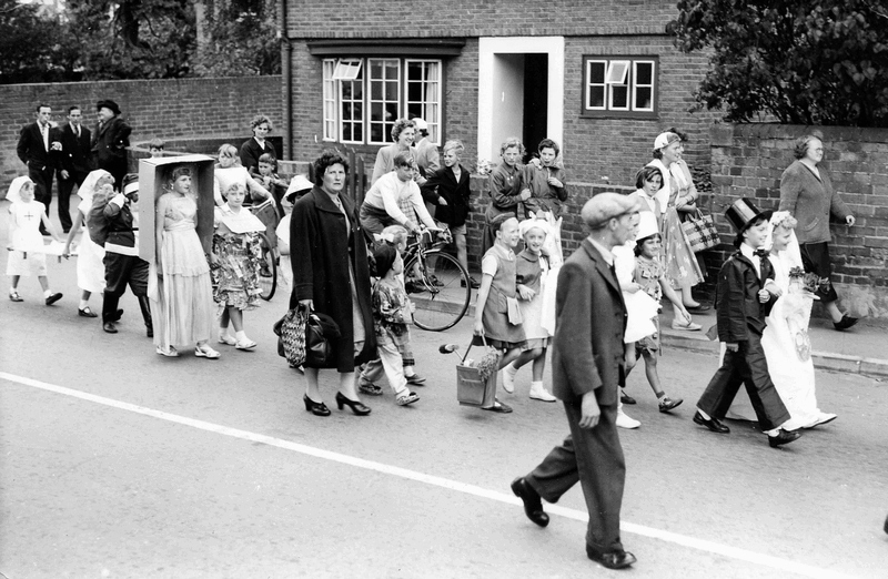 Fancydress parade c 1960