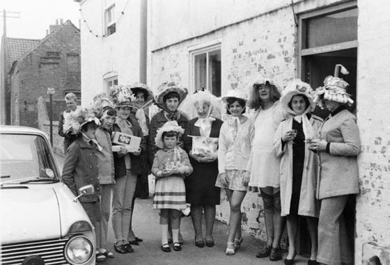 Easter Bonnet Parade in the 1970's