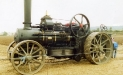 Traction Engine at The Ploughing Match 2001