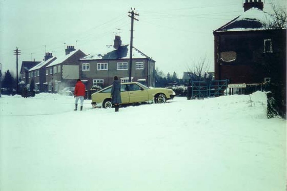 Winter in the late 70's