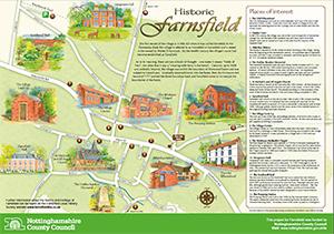 Farnsfield Village Information Panel