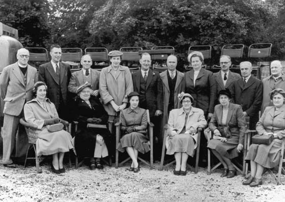 Gala committee in 1953