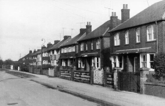 Broomfield Lane 1960s