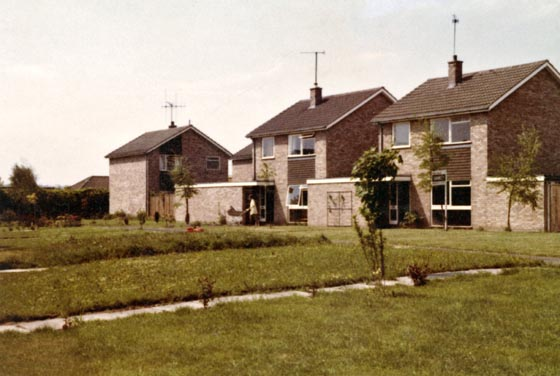 Housing off Ridgeway Close 1974