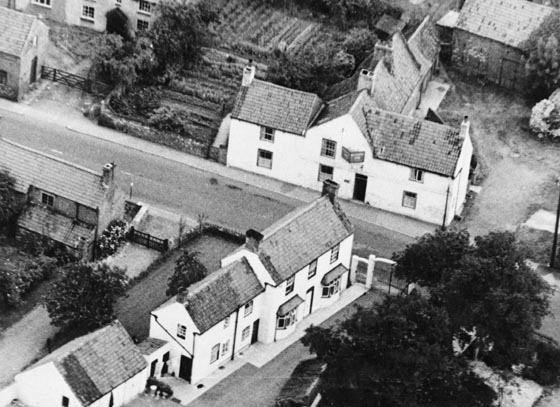 Plough and Grange Cottage 1964