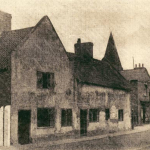 Cottages betweem co-op and Newsagents Main Street now demolished