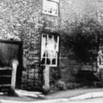Cottages on Station Lane now demolished