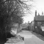 Looking East up Chapel Lane