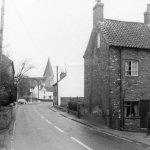 Mansfield Rd. Looking towards the village