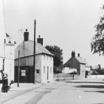 Plough and cottages main street 1930