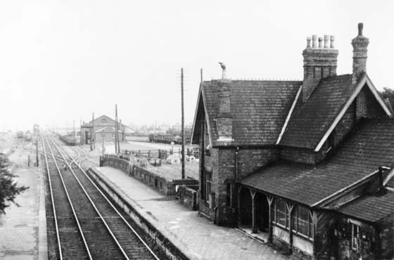 Farnsfield Railway Station 1900s