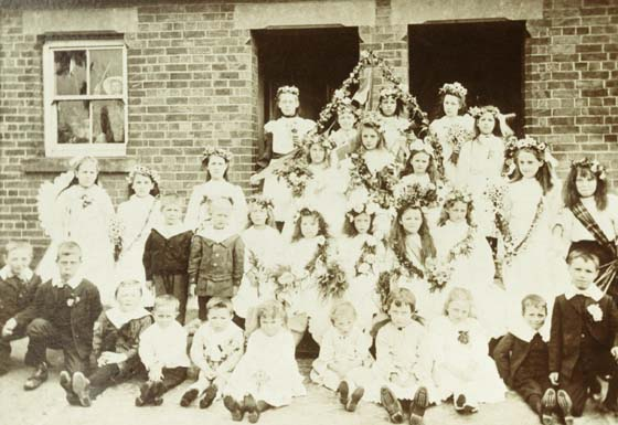 Children of the Church School 1900s