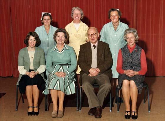 Church School Staff 1976-7