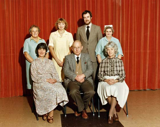 Church School Staff 1977-8