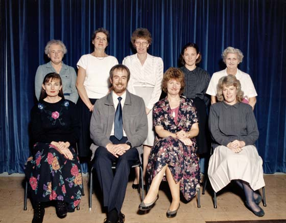 Church School Staff 1984
