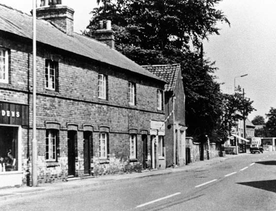 Main Street Farnsfield 1970s