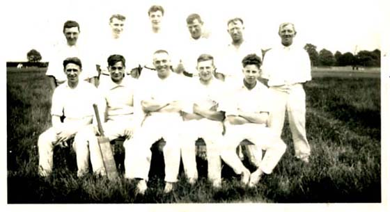 Farnsfield Cricket Team 1931