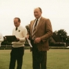 Opening day 1989 President Frank Reynolds Chair Parish Council George Rhodes Club Captain Bob Senior